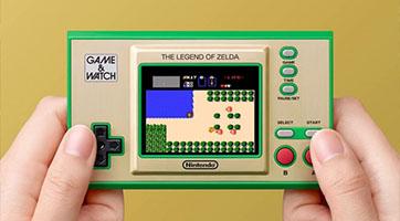 Une console Game&Watch Zelda pour les 35 ans