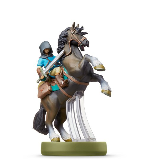 Amiibo Link à cheval / Link Rider (Breath of the Wild)