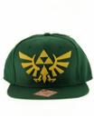 Casquette Homme logo Zelda verte