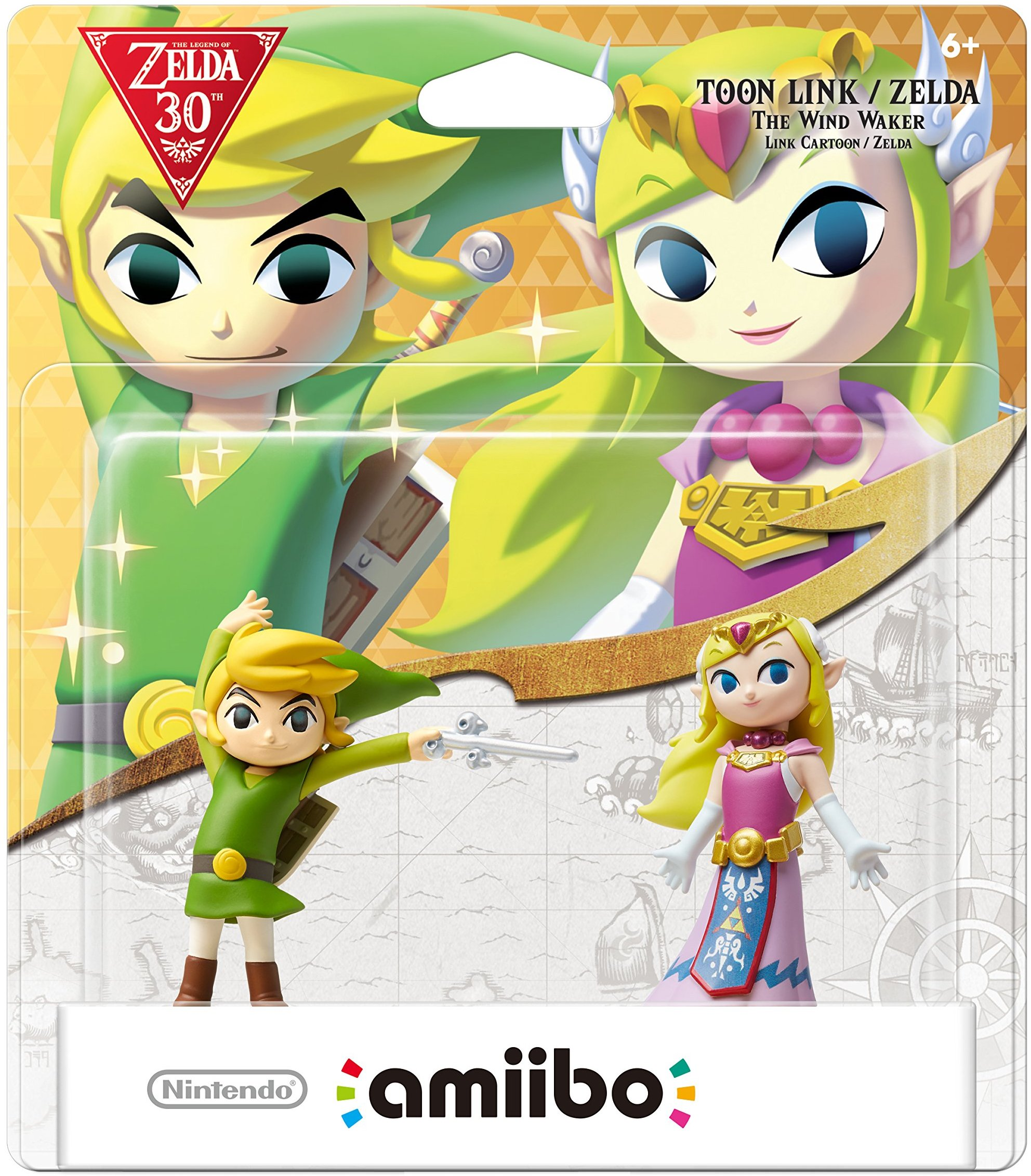 pack damiibo toon link et zelda the wind waker - Link Et Zelda