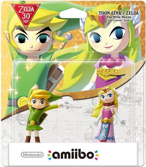 Pack d'amiibo Toon Link et Zelda (The Wind Waker)