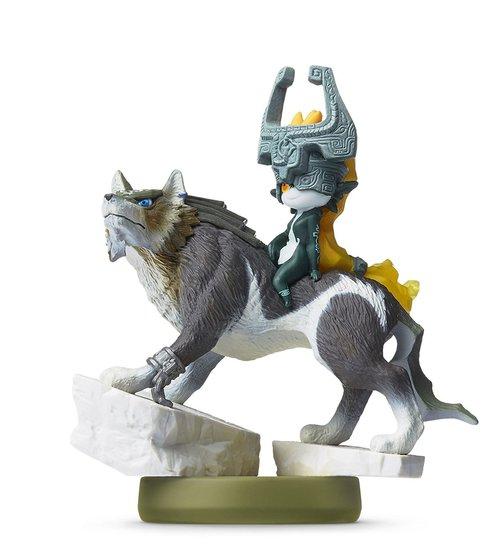 Amiibo Link loup et Midona