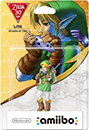 Figurine Amiibo de Link - Ocarina of Time