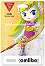 Figurine Amiibo de Zelda - The Wind Waker