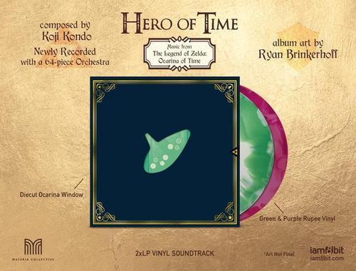 Étui extérieur de l'édition vinyle de Hero of Time