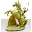 Statue dorée Link et Epona (TP)