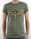 T-Shirt Zelda Vintage Green