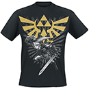 T-Shirt Zelda Warrior Noir