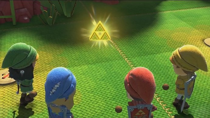 Le but ultime : la Triforce