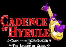 Logo du jeu Cadence of Hyrule – Crypt of the NecroDancer Featuring The Legend of Zelda