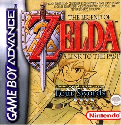 Boite de A Link To The Past + Four Swords sur GBA