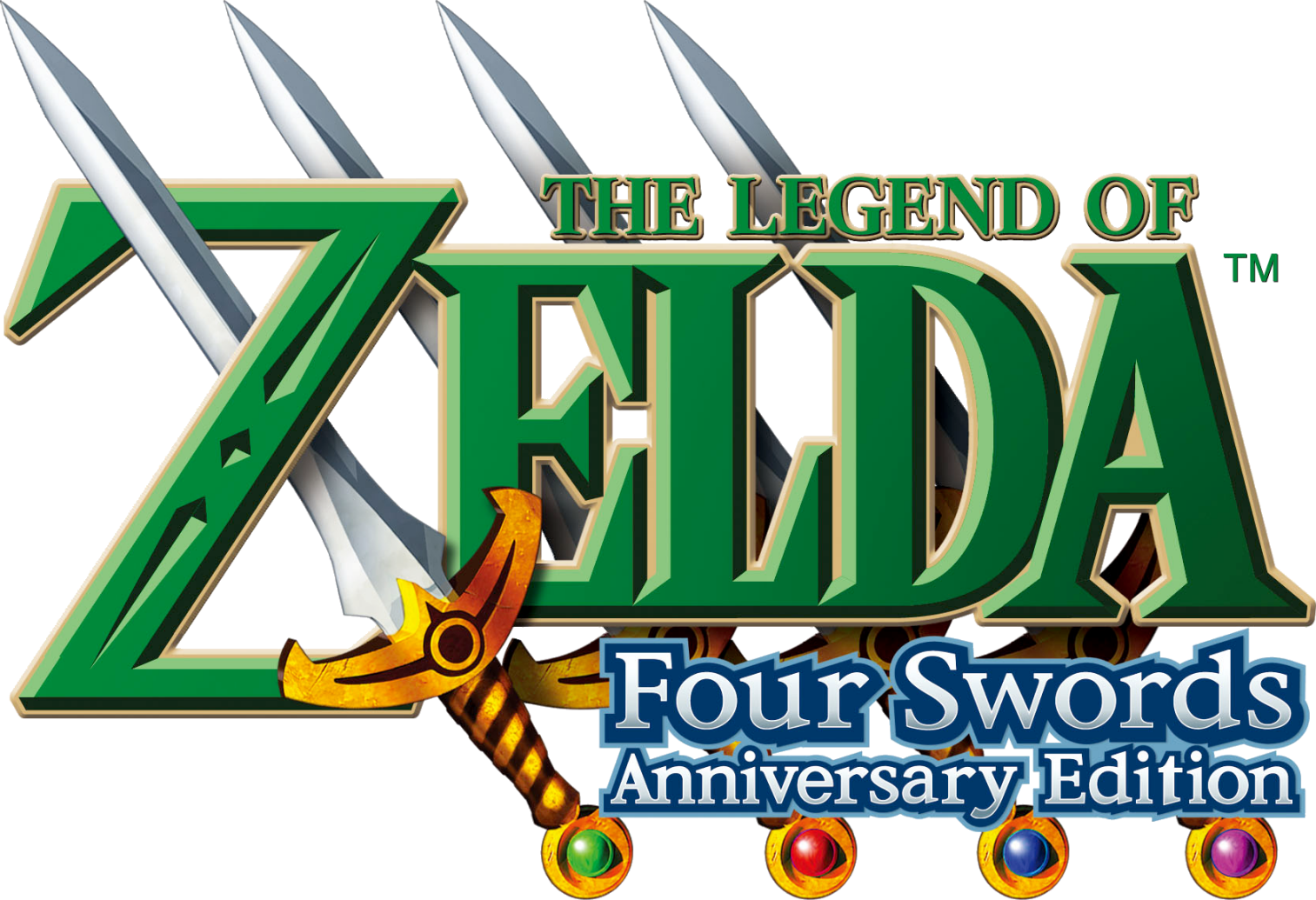 Logo de Four Swords Anniversary Edition
