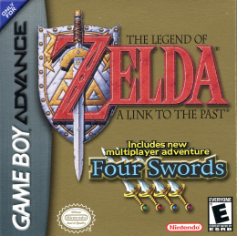 Boîte de The Legend of Zelda: Four Swords