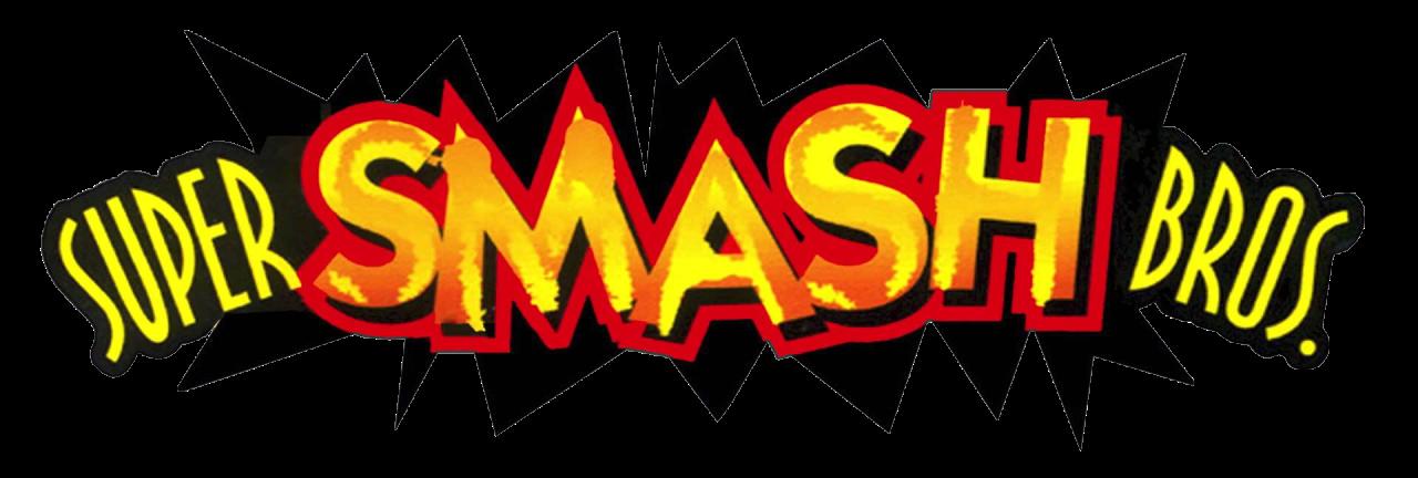 Logo du jeu Super Smash Bros.