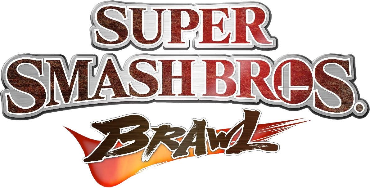Logo du jeu Super Smash Bros. Brawl