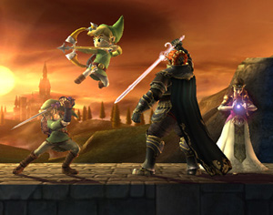 Capture d'écran de Super Smash Bros. Brawl
