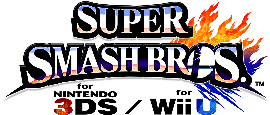 Logo du jeu Super Smash Bros. for Nintendo 3DS / for Wii U