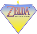 Logo du jeu Zelda: The Wand of Gamelon