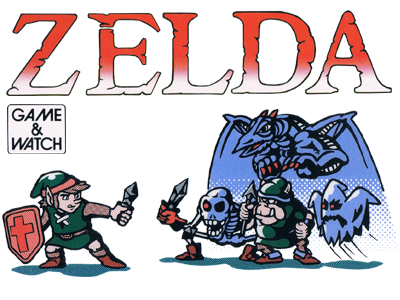 Logo de Zelda Game and Watch