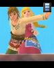 Skyward Sword — Link & Zelda